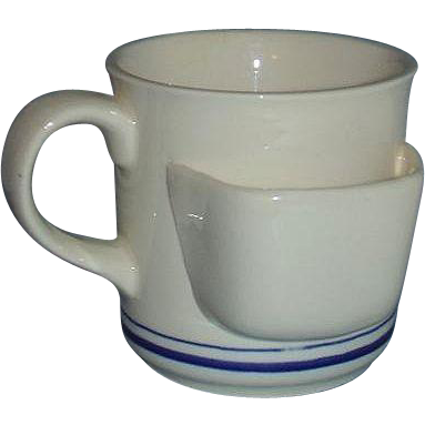 Chadwick Miller Tea Cup Mug with Tea Bag Holder 1984