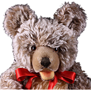 Big Beautiful Steiff 5X-Jointed Shaggy Zotty Teddy Bear ID Growler