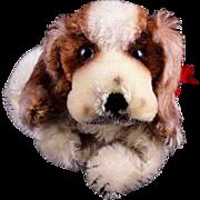 Steiff Cockie Spaniel Puppy Dog Hand Puppet 2 IDs