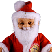 Small Steiff Santa Claus Doll Replica Ltd. Edition US Market '85-'88 Only All ID