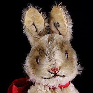 Tiniest Sister Steiff 5xJointed Rare Niki Hase Bunny Rabbit ID