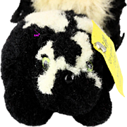 RARE and not at all Stinky Steiff Wool Miniature PomPom SKUNK all ID