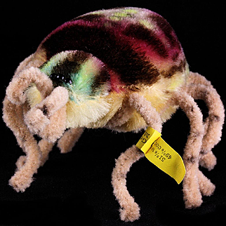 Little Sister Not at all Creepy Rare Steiff Spidy Spider Spinne Beautiful Colors 2 IDs 1960-1961 ONLY