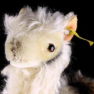 Middle Size Brother Rare Exotic Steiff Llama Lama 2 IDs