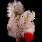 Rare Tiny Steiff Wool Miniature PomPom Squirrel Eichhorn ID