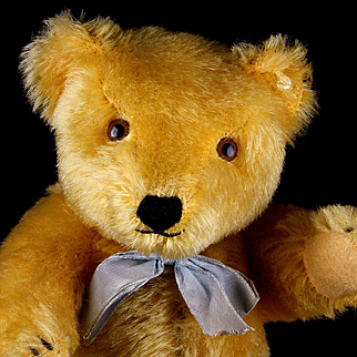 Sweet Gorgeous Gold Steiff 5xJointed Original Teddy Bear ID