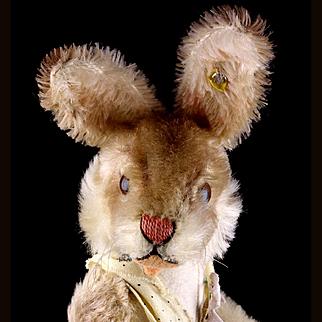 Rare Steiff Nikili Dressed Girl Bunny Rabbit Hase Doll ID