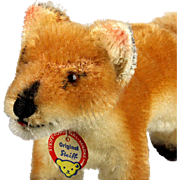 Tiny Brother Steiff Pre-Xorry Red Fox Fuchs ID 1950-1957 Only