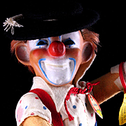 Rare Steiff Clown Doll Figure Clownie All ID '59-'64