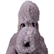 Earliest Series Tiny Steiff Jointed Wool Miniature Pom Pom Poodle Puppy Dog for your Doll All ID