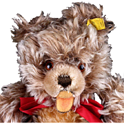 Steiff 28 CM 5xJointed Zotty Teddy Bear 2 IDs - Red Tag Sale Item