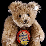 Tiniest Brother Steiff Caramel 5xJointed Original Teddy Bear 2 IDs