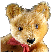 Early Little Brother Steiff Gold Blond 5x-Jointed Original Teddy Bear ID