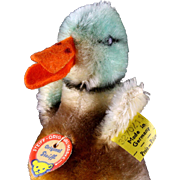 Steiff Little Brother Multicolored Duckling Ente Bird All ID