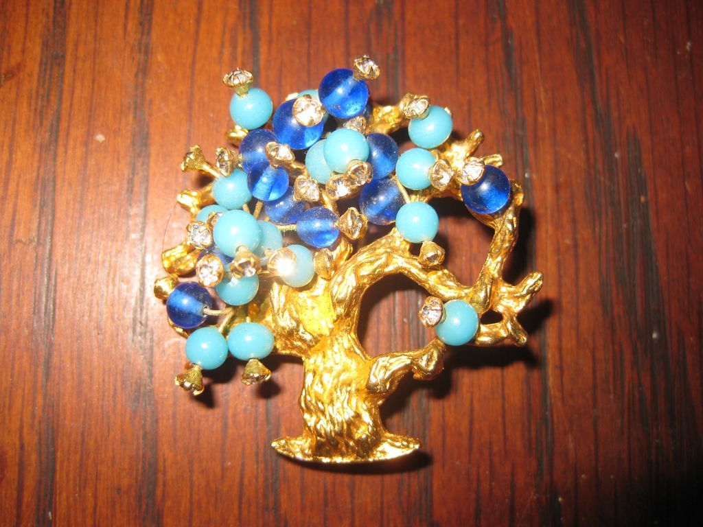 Hattie Carnegie Tree of Life Brooch