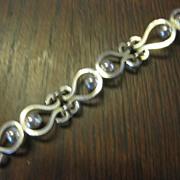 Los Castillo Silver Plate Bracelet