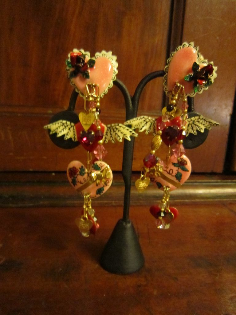 Lunch at the Ritz Valentine Couture  Earrings