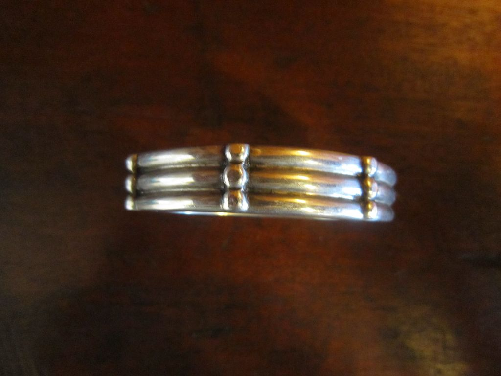 Tane Solid Sterling Hinge Bracelet - Small Wrist