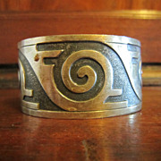 Bell Sterling Hopi Cuff Bracelet - Arizona Highways Cover 8/1958