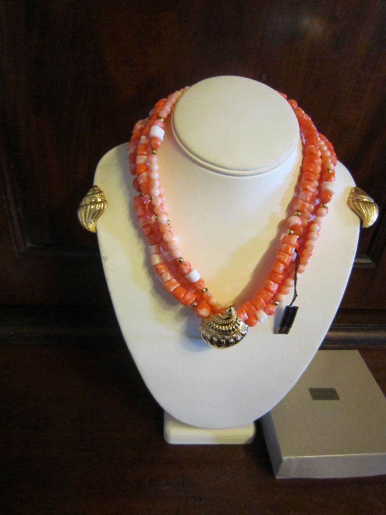 Kenneth Lane for Avon Under the Sea Lucite Coral