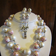Vendome Necklace and Bracelet - Venetian Style