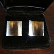 Antonio Pineda Sterling Cuff Links