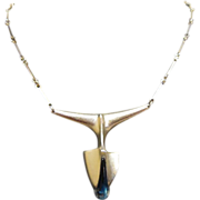 Bjorn Weckstom Sterling Necklace - Scandinavia