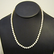 Mikimoto Blue Lagoon Pearl Necklace