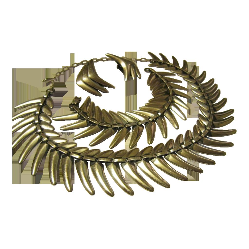 Rame Chrome Nefertiti Necklace Set