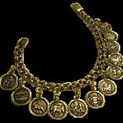 Maria Pineda Sterling Zodiac Charm Bracelet