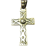 Vernon Begay, Navajo, Sterling Cross