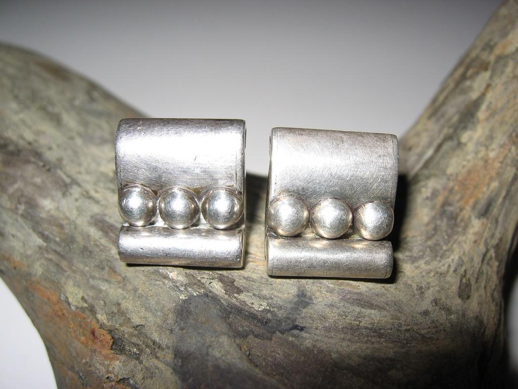 Hector Aguilar Sterling Cuff Links