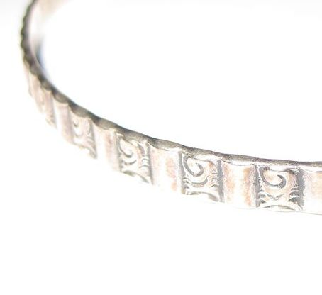 Danecraft Felch Sterling Bangle Bracelet