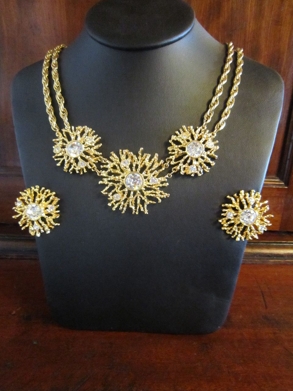 Kenneth J Lane Regal Riches Necklace and Earrings