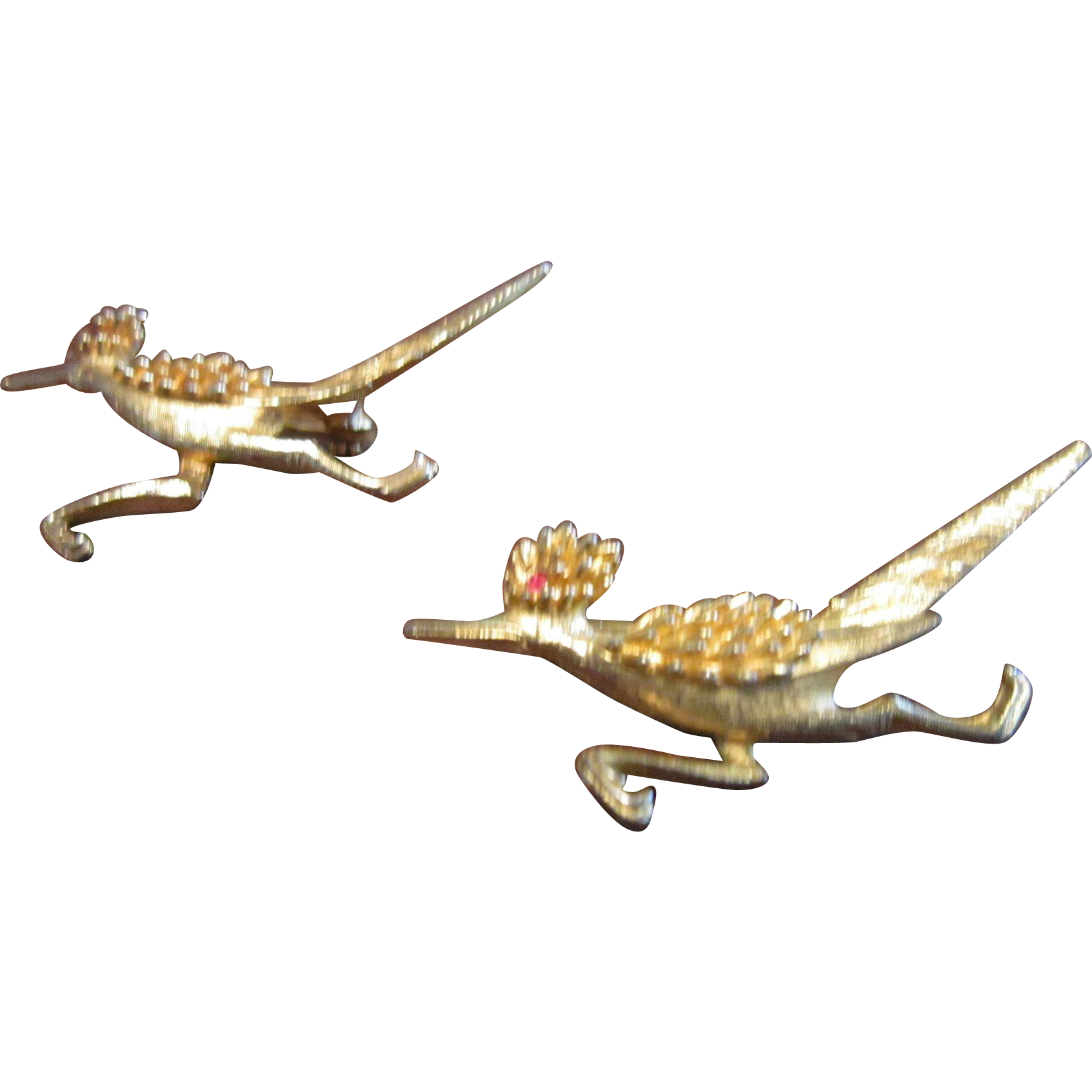 Hobe Road Runner Scatter Pins Gold Plated