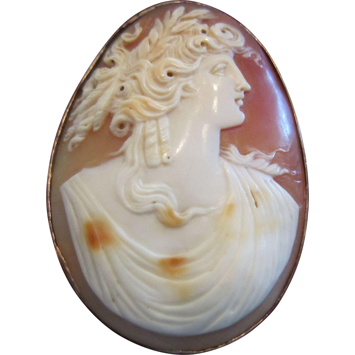 Cameo of Demeter (Ceres) Goddess of Agriculture and Vegetation