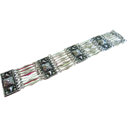 Ethnic Sterling Mexican Bracelet