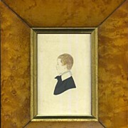Portrait Miniature - Young Boy