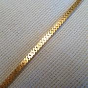 Delicate Vintage Gold Tone Bracelet
