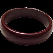 Brown Bangle Bracelet