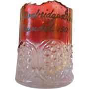 1901 ruby flash toothpick Cambridge Glass company