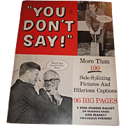 1963 You Don't Say by Stan Lee