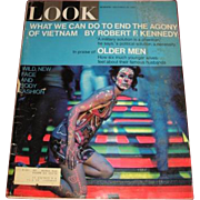 """November 28, 1967 LOOK magazine """"What we can do to end the Agony of Vietnam"""" by Robert F. Kennedy"""