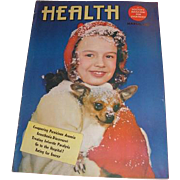 Three HEALTH and Life and Health magazines. March 1947, November 1949 and October 1951 A Doctor's Magazine for Everybody