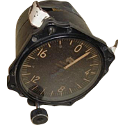 World War 2 vintage Pioneer Altimeter.
