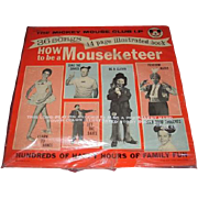 WOW   mint new in package never opened original 1962 record The Mickey Mouse Club LP - How to be a Mouseketeer by Walt Disney Productions