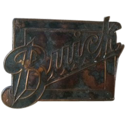 BUICK badge, nameplate or medallion.