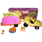 1973 Mattel BARBIE Goin' Camping Set with original box