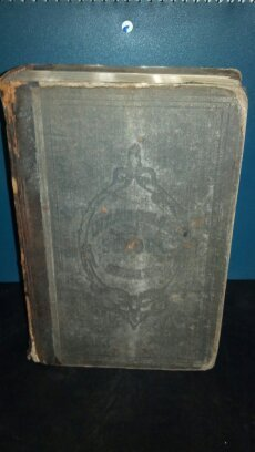 Post Civil War era National Fifth Reader hard back book.  P and W Series No. 6. A. S. Barnes and Company