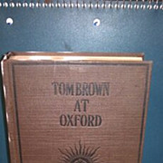 Tom Brown at Oxford hardback book. No dust cover. Thomas Hughes